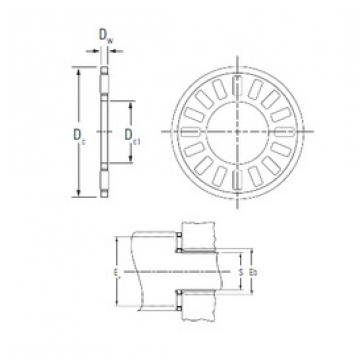 Bantalan NTA-613 KOYO